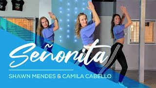 Shawn Mendes, Camila Cabello - Señorita - Easy Fitness Dance Video - Baile - Choreo
