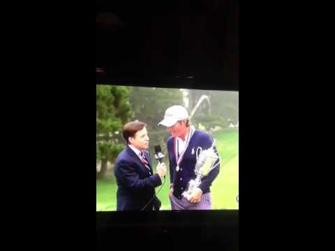 Webb Simpson US Open Interview