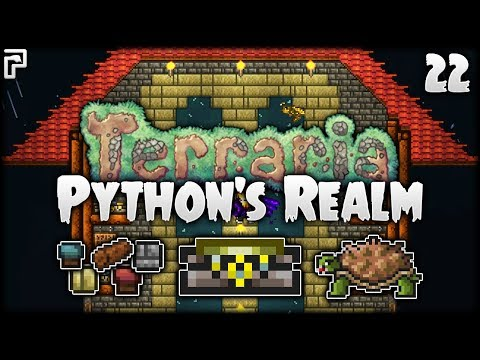 Terraria Let's Play (1.3.5)   We Need To Talk About Terraria...   Python's Realm [S2 - Episode 22]