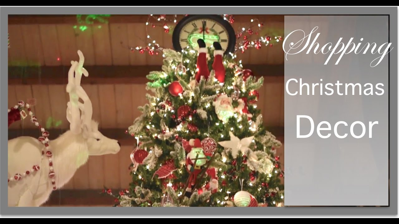 christmas decorations rebeccas favorite christmas stores youtube