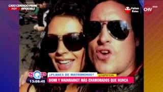 Dominique y Rodrigo volvieron a Santiago más enamorados que nunca