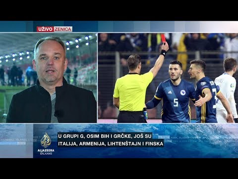 Muratović: BiH spašavala bod protiv Grčke nakon dva gola prednosti