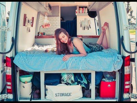 Gorgeous Custom Sprinter Camper Van Built To Pursue Mobile Incomes