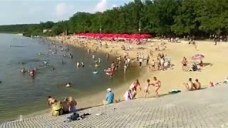 Пляж в Оргееве.