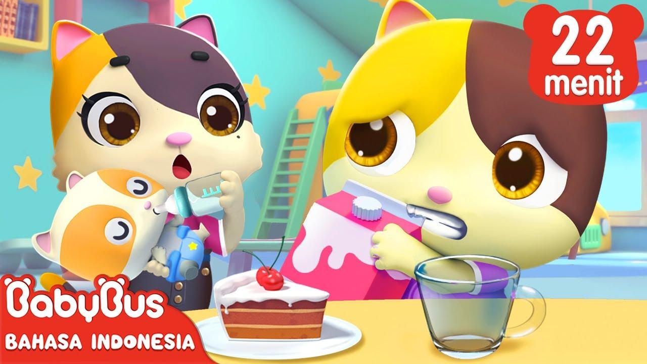 Memberi Aku Pelukan Saja, Ibu | Lagu Anak-anak | Kartun Anak Indonesia | BabyBus Bahasa Indonesia