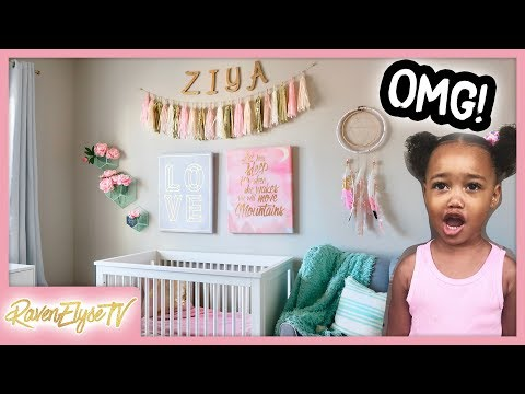 TODDLER BEDROOM MAKEOVER! (Cleaning + Decorating)