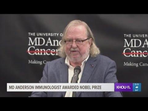 MD Anderson immunologist awarded Nobel Prize