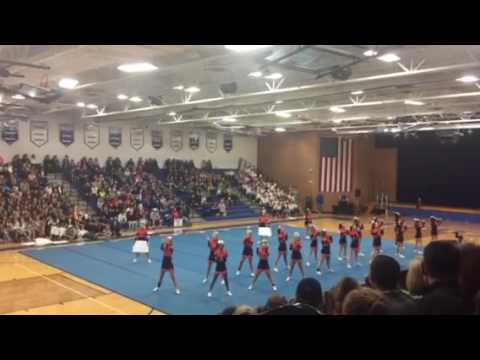SWC CHEERLEADING COMPETITION 2016 (Berea Midpark High School)