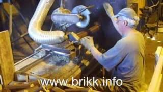 Производство топливных брикетов. Торцевание в размер.(, 2007-12-01T20:49:13.000Z)