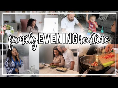 Family Evening Routine with a Toddler! Summer 2019 | NitraaB
