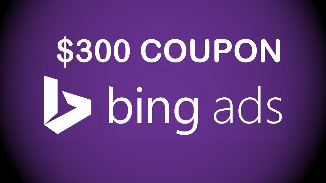 bing ads coupon code