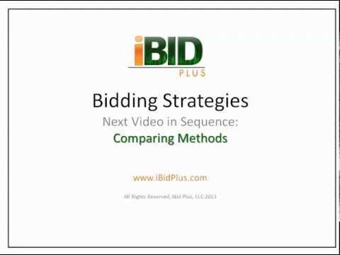 iBid Plus Landscape Bid Series-#2 Example I