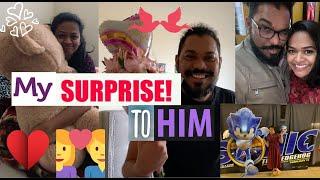 My ❤️❤️surprise To Him!! Valentines Day Special 💑💑   #latepost #kalyaniboppa