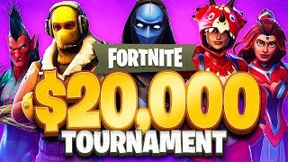 Fortnite $20,000 YouTuber Tournament!