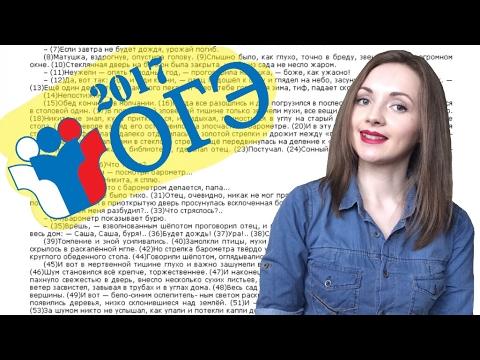 Разбор теста ОГЭ по русскому языку №3 [IrishU]