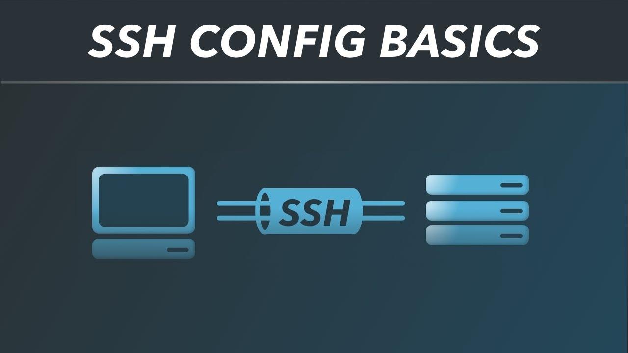 SSH config basics