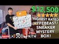 Unboxing a $12,500 HIGHEST RATED Hypebeast Mystery Box!