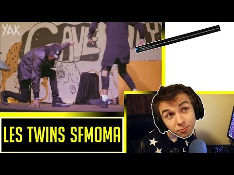 Les Twins at SFMOMA Birthday Bash x YAK Films Reaction