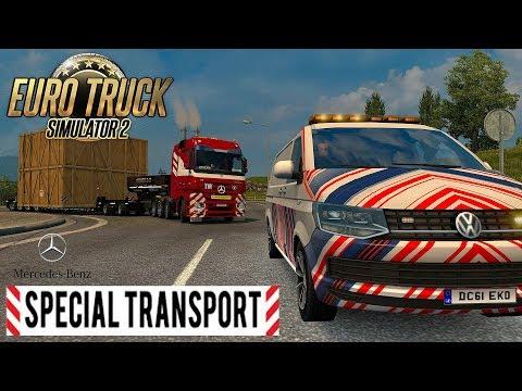 ETS2 I Special Transport ★ Unfall mit dem Schwerlasttransport ★ #567 Euro-Tour [Deutsch/HD]