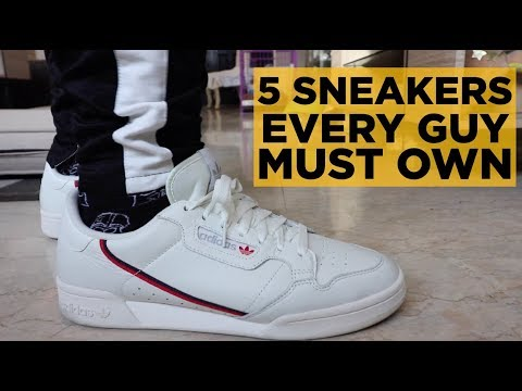 5 SNEAKERS EVERY GUY MUST OWN (ACCORDING TO TEACHING MEN'S FASHION)
