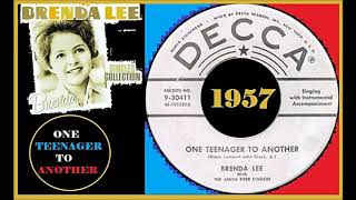 Brenda Lee - One Teenager To Another Vinyl YouTube Videos