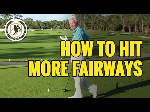 Golf Tips – How To Hit More Fairways With Your Driver