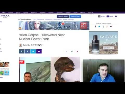 Yahoo News Puts UFO Sightings Daily In The News. Sept 2, 2015