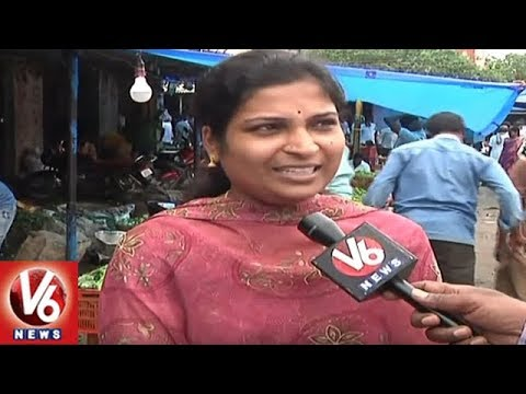 Special Story On Warangal Vegetable Market Turning To Garbage Dump | V6 News