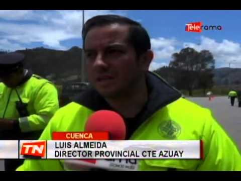 CTE realiza operativos en vías del Azuay