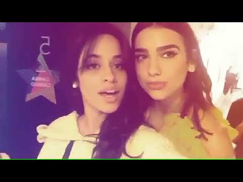 Dua Lipa and Camila Cabello