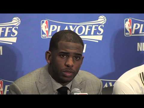 Chris Paul talks Donald Sterling after Game 5 win
