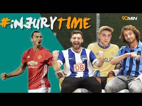 Will Zlatan win Europa League with Man United? | Should the PL lose UCL spots!? 90min#injuryTime