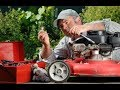 Fix lawn mower that starts but stalls after a few minutes