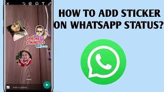 How To Add Sticker On WhatsApp Status screenshot 4