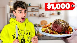 Eating the Worlds Most EXPENSIVE Steak! (Japanese A5 Wagyu)