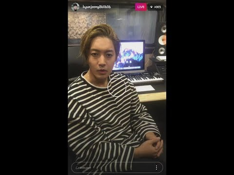 Kim Hyun Joong The Leader (SS501) Instagram First Live 20171129