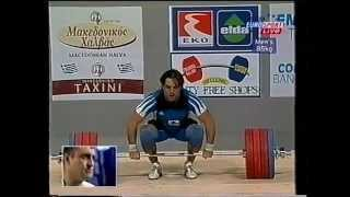 Zlatan Vanev 217 5 kg Clean and Jerk