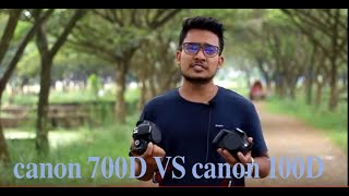 Canon 700D VS 100D For beginners