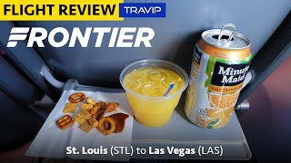 Frontier Airlines Review: St. Louis to Las Vegas | Travip Flight Review