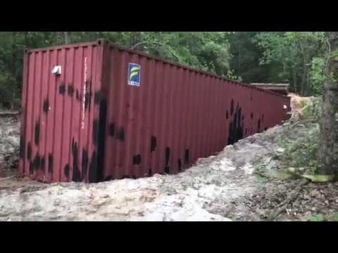 Shipping Container Underground Storm Shelter Part 5 Shop Storage Cellar Tornado How To Bury Build