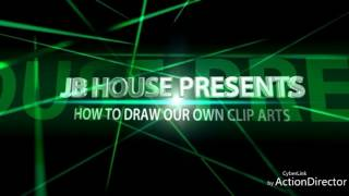 HOW TO DRAW OUR OWN CLIP ARTS