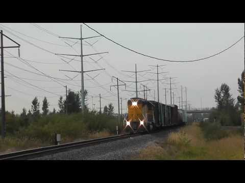 GP40-2 Union Pacific. Auburn-Kent, WA