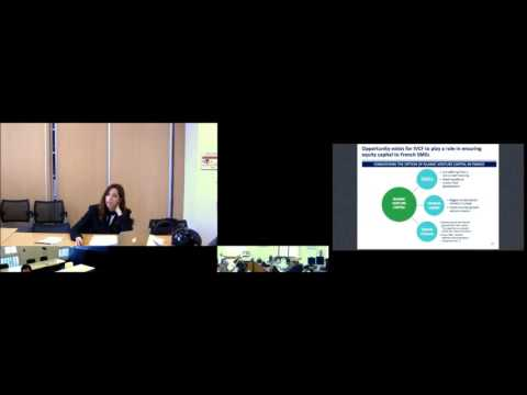 "Seminar March 2017 - ""Islamic Venture Capital in French Law: A legal analysis"" by Dorsaf Matri"