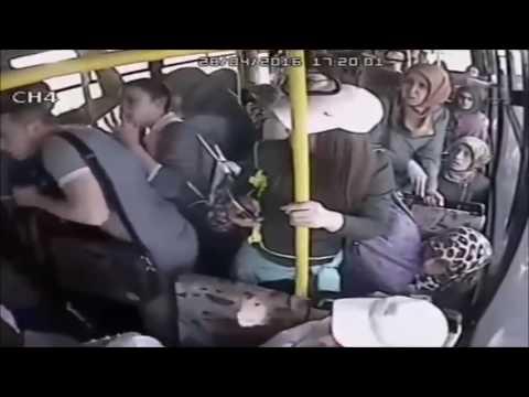 Pervert flashing on bus gets what he deserves thumbnail