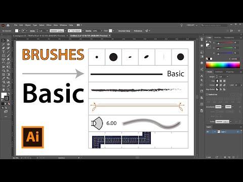 The Basic Brush Option - Adobe Illustrator