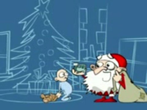 Babbo Natale Animazione.Animazione Babbo Natale E Bimbo Dispettoso Youtube