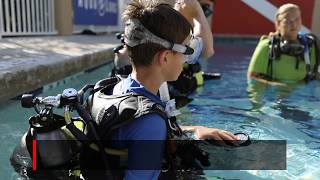 The PADI Open Water Diving Course is your passport to the wo image