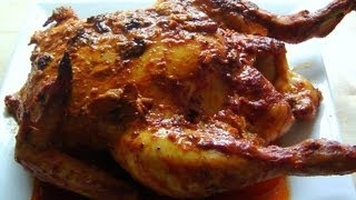Christmas Tandoori Whole Chicken How To Make Marinade & Roast