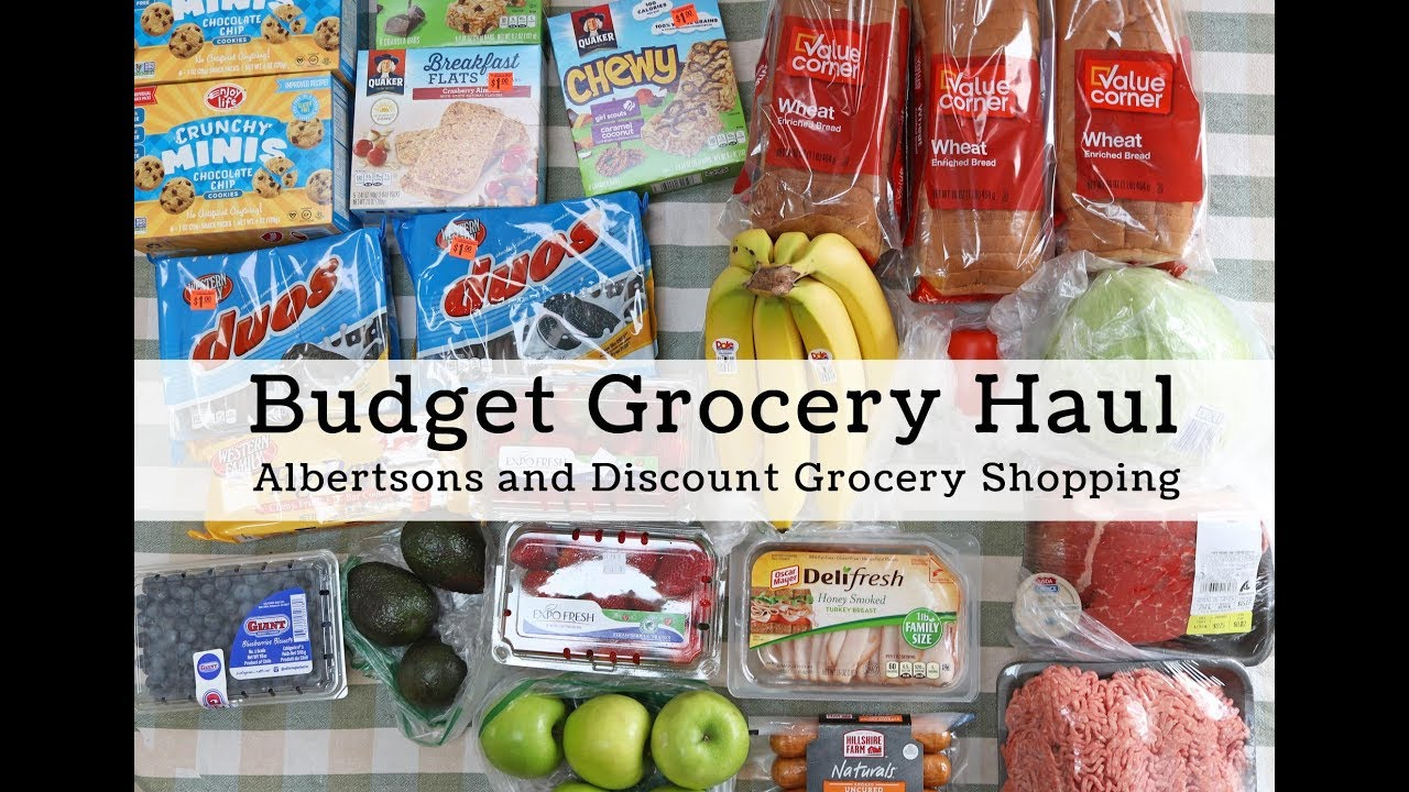Two Store Budget Grocery Haul, Under $60 for our Family of 4