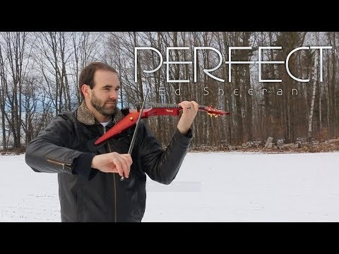 PERFECT - Ed Sheeran - Electric Violin Cover By Alan Mallory
